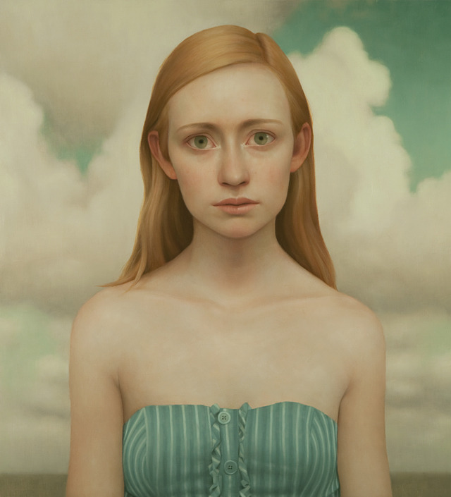 Tabitha #9, oil on panel, 36 x 40 inches, 2011Gallery Henoch, New York, NY