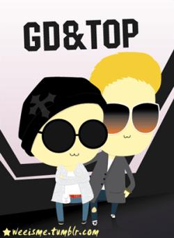 [FANART] GD&TOP @ D Summer Night! ★