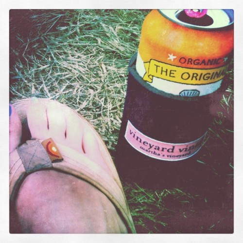 Ending ACL in style…it's only 97 degrees… (Taken with instagram)
