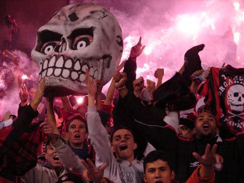 Atletico Parana football fans