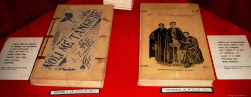 Image of Noli and Fili, Rizal's major novels