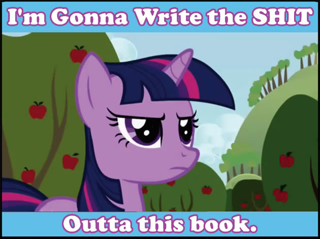 November is National Novel Writing Month aka NaNoWriMo. Did you know that there is also a National Pony Novel Writing Month?