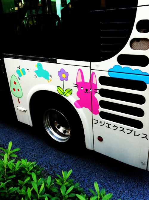 Bus in Omotesando