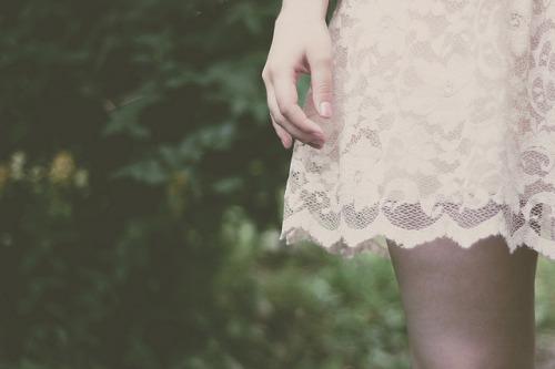 lace dress by linn bergström on Flickr.