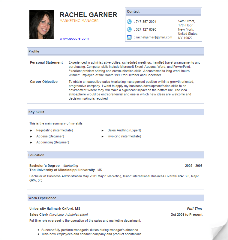 best resume layout 2016 the best resume templates for 2015 2016 free