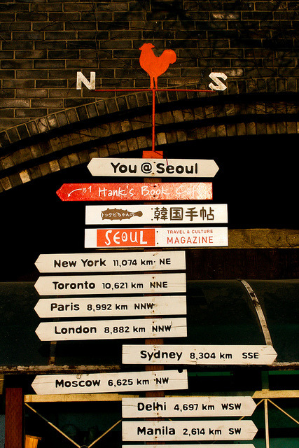 thingsaboutsouthkorea:  welcome-to-korea:  Seoul by stuckinseoul on Flickr.  -