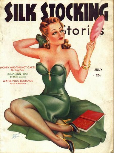 hoodoothatvoodoo:  Silk Stocking Stories 1939
