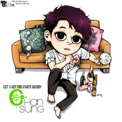 Let's get this party kickin': Chansung