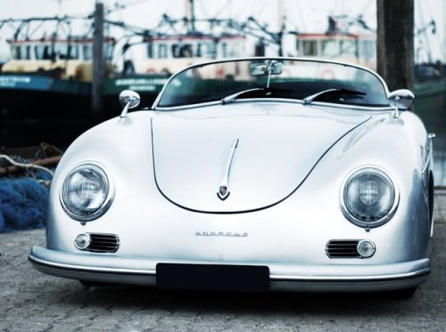 theblackworkshop:</p><br /> <p>Porsche 356 Speedster<br /><br />