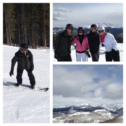 such a beautiful skication in Breckenridge