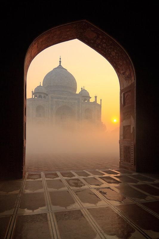 Taj Mahal, India…