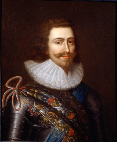 "<br /><br />Portrait of George Villiers Duke of Buckingham (1592 - 1628) 1625c.</p><br /><p>By Sir Balthesar Gerbier <br /><br />Buckingham, who was praised for his good looks and charm quickly became a favourite of James I. Under James he rose from the title of Viscount Villiers in 1617 to Earl of Buckingham before being awarded a Marquisate in the following year. When questioned about his admiration for George Villiers, the King, who referred to his favourite as his ""Sweet Steenie"" and his ""sweet child and wife"", is said to have responded by proclaiming, ""You may be sure that I love the Earl of Buckingham more than anyone else…Christ had his John, and I have my George""."