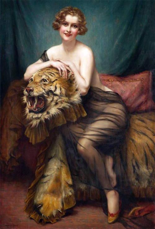 art-and-dream:  Artist painted French  François Martin Kavel wonderful
