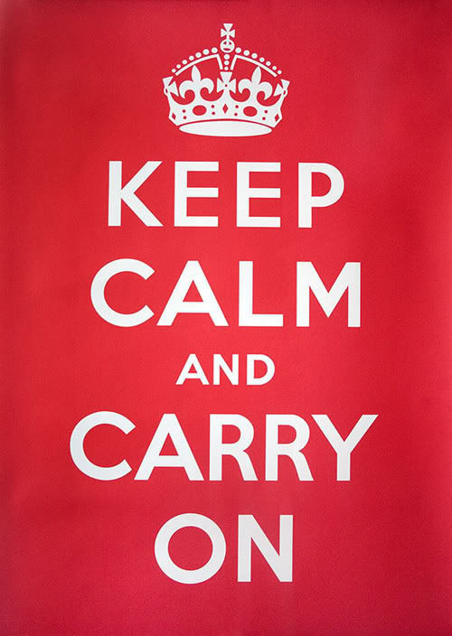 The Story of the Keep Calm and Carry On Poster.
