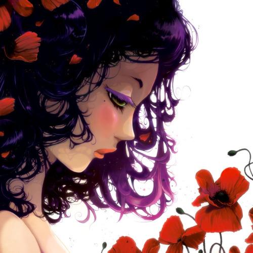 :: Les fleurs rouges ::