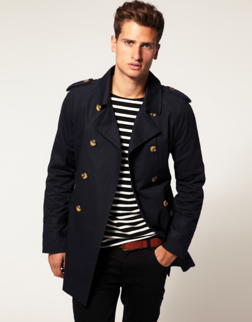 thetieguy:</p><br /><br /><br /><br /><br /><br /> <p>i really love this jacket here. this is a really good transition piece. i have a trench coat similar to this and i would love another one!