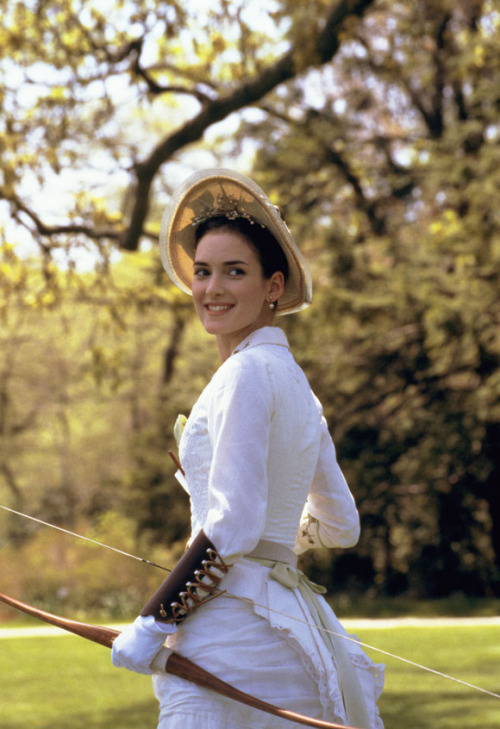 costumedramas: Winona Ryder as May Welland in The Age of Innocence (1993).<br />