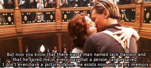 No one who wasn't on Titanic gets to be in heaven?