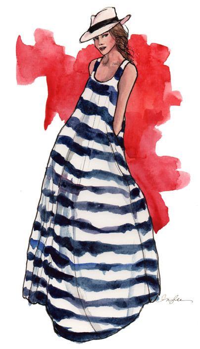 aplaceforart: summer, I need you. art by inslee.