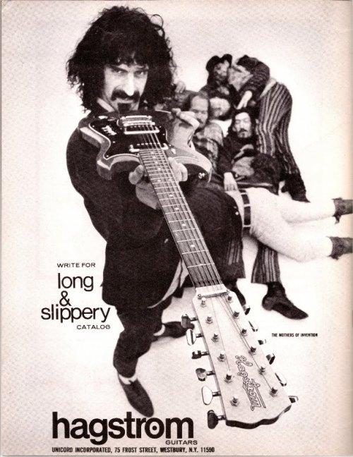 Frank Zappa Hagstrom guitars