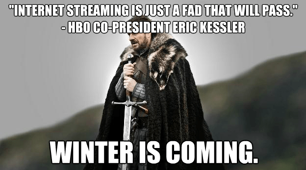 Winter si Coming