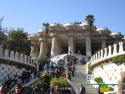 Entrance to Parc Güell