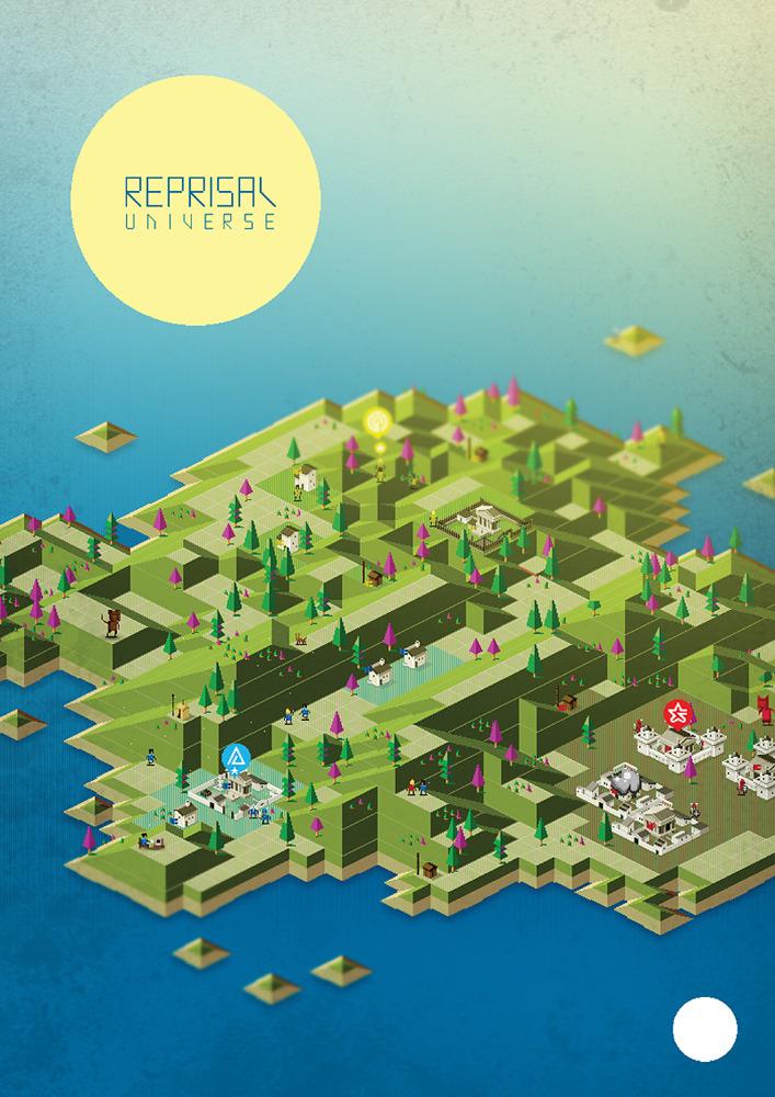 Reprisal Universe Poster