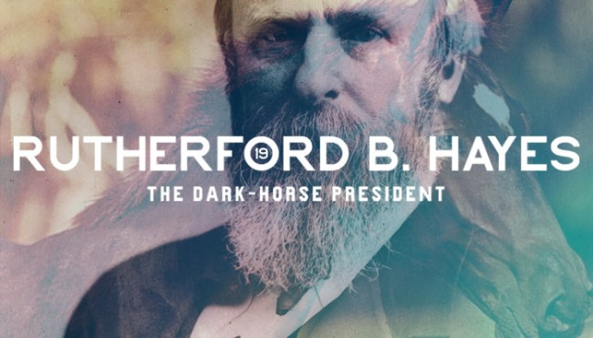 19th President: Rutherford B. Hayes (1822-1893)