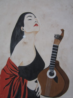 Fadista & Portuguese guitar