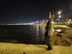 I'm in Mallorca, trick!