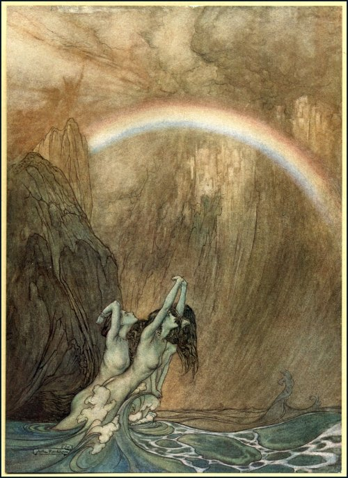 mudwerks:</p> <p>(via Golden Age Comic Book Stories)</p> <p>Arthur Rackham - The Ring of the Niblung by Richard Wagner</p> <p>