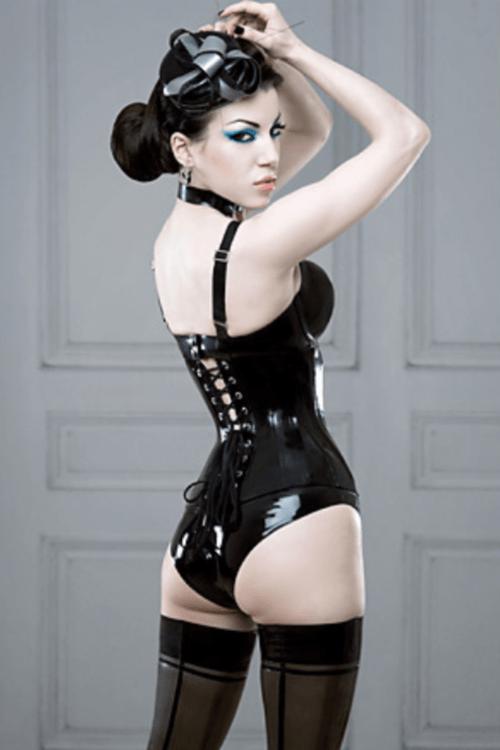 Novel rubber fetish clothing