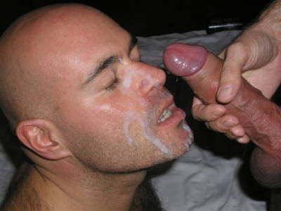 gay spread ass with cum