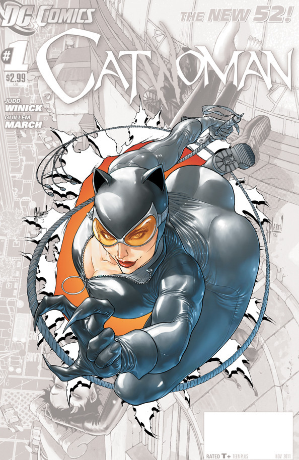 Catwoman can shove her head up her...