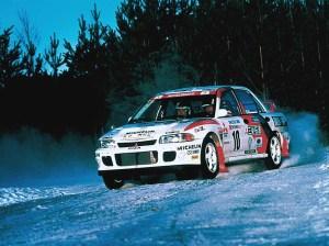 Mitsubishi Lancer Evo II Group A (1994)  Racing Cars