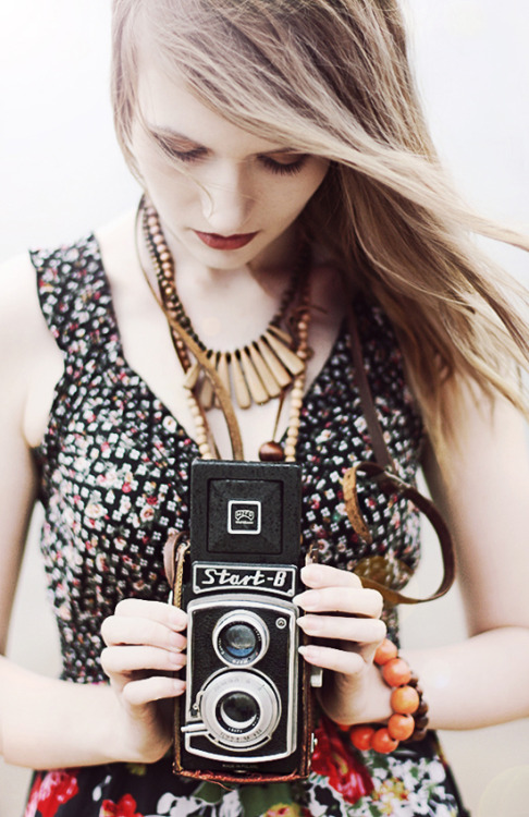 Beautiful Women with a Camera