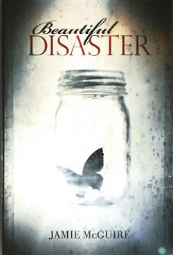 Beautiful Disaster by Jamie McGuire<br />Book description (via Amazon):</p><p>**For mature readers. Contains sexual situations and strong language**The new Abby Abernathy is a good girl. She doesn't drink or swear, and she has the appropriate percentage of cardigans in her wardrobe. Abby believes she has enough distance between her and the darkness of her past, but when she arrives at college with her best friend America, her path to a new beginning is quickly challenged by Eastern University's Walking One-Night Stand.Travis Maddox, lean, cut, and covered in tattoos, is exactly what Abby needs—and wants—to avoid. He spends his nights winning money in a floating fight ring, and his days as the charming college co-ed. Intrigued by Abby's resistance to his charms, Travis tricks her into his daily life with a simple bet. If he loses, he must remain abstinent for a month. If Abby loses, she must live in Travis' apartment for the same amount of time. Either way, Travis has no idea that he has met his match.</p><p>I loved this book. The author did a great job of developing the characters, the main character, Abby, was fairly easy to relate to. Though the characters were in a college setting, it seemed as if they were in high school at times. It was very reminiscent of my attitude back in high school and the drama I endured back in my day.<br />It's your typical good girl meets bad boy but with a twist because later on we learn that the good girl may not have always been good. The relationship between Abby and Travis is volatile and bordering on obsession yet at the same time it depicts an all-consuming type of love.<br />As an adult, I am very aware that this book is a very bad example of what a relationship should be like. Travis has anger issues and acts on impulse; almost always solving problems with violence. But being that I was a teenager before and have had my fair share of volatile, all-consuming relationships, I could definitely relate to the type of love they had for each other, which is what pulled me in and kept me reading the story.<br />I almost hate that this book was so good because I haven't found another story like this one that can pull me in so strongly =P