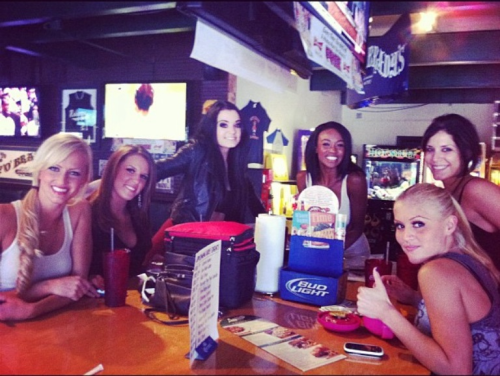 "New Paige instagram photo: ""me and the ladies at beef o bradys"""