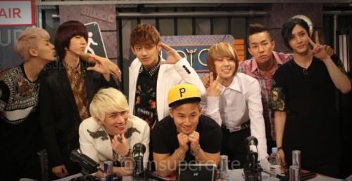 120628 SBS MTV Studio C - EunKwang MC w/MYNAME