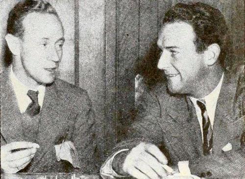 Leslie Howard & William Gargan