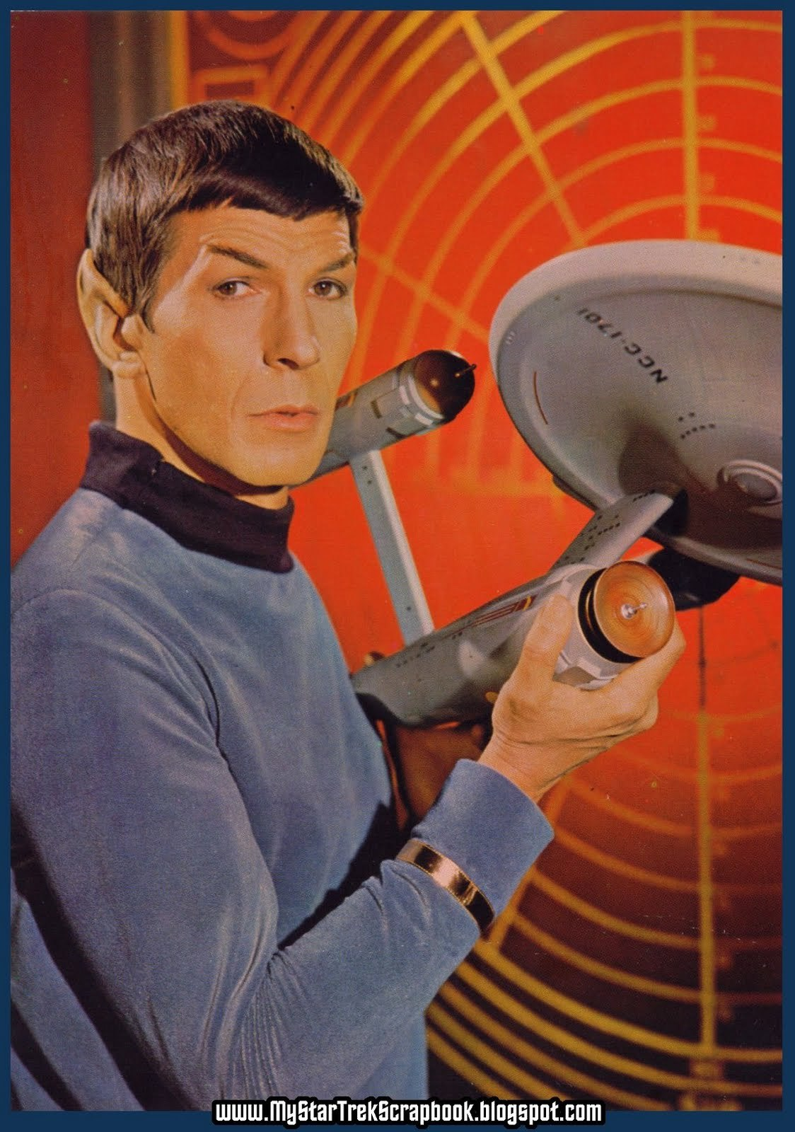 Spock - Star Trek Original series promotional poster