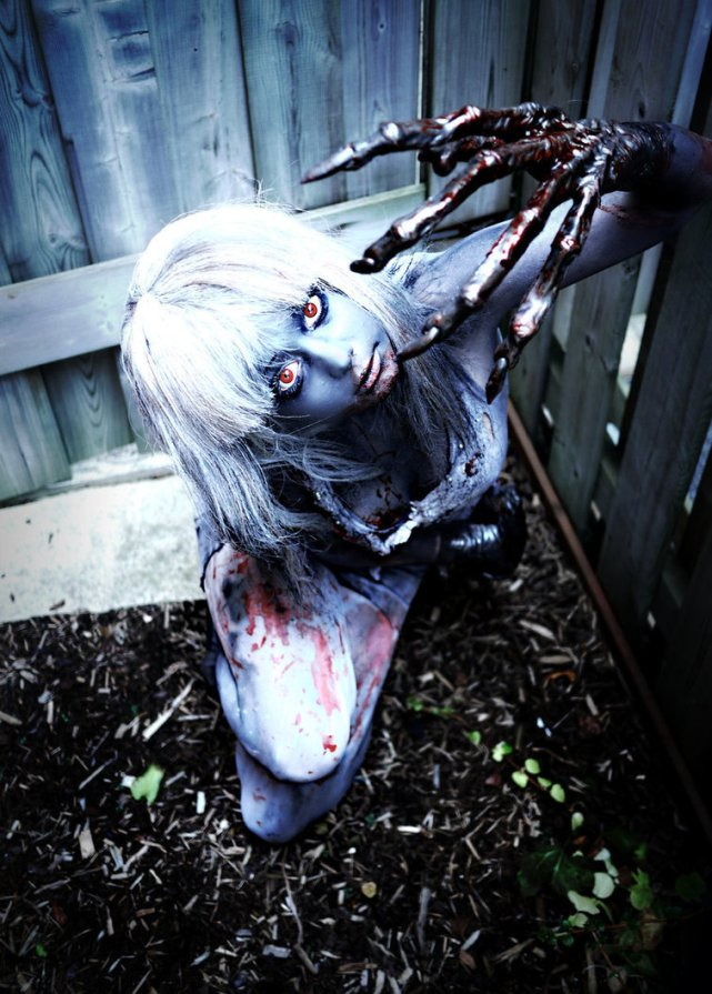 witch cosplay left 4 dead 2