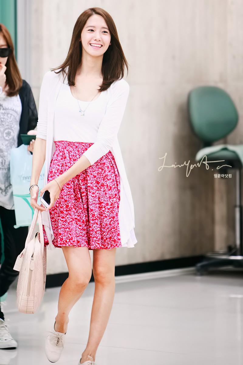 [120710] Yoona @ Incheon Airport by limyoona