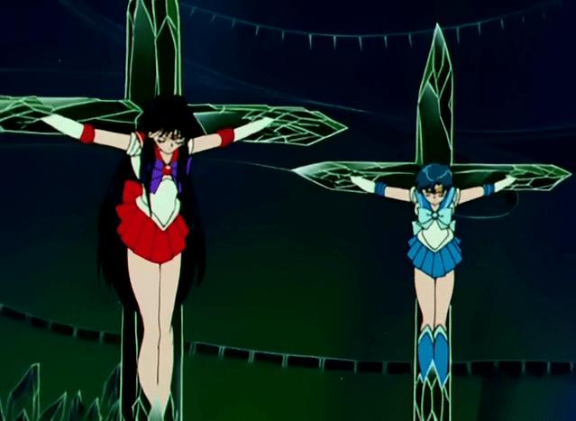 Image result for sailor senshi crucified