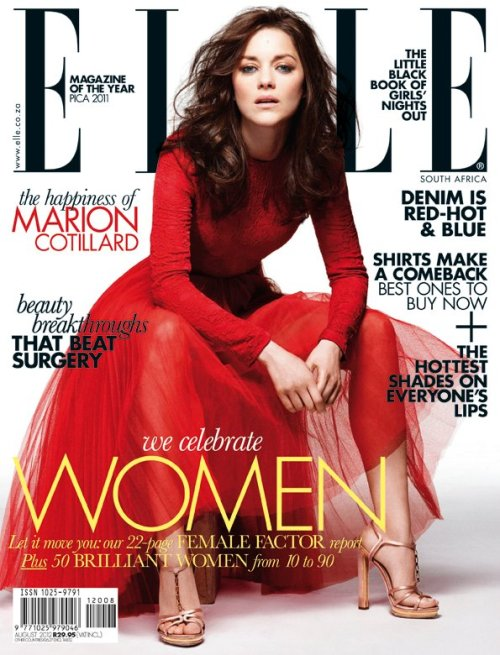 Elle South Africa August 2012