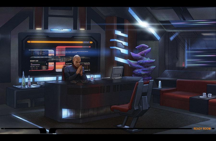 Star Picard S Ready Painting Trek Generation Next Room