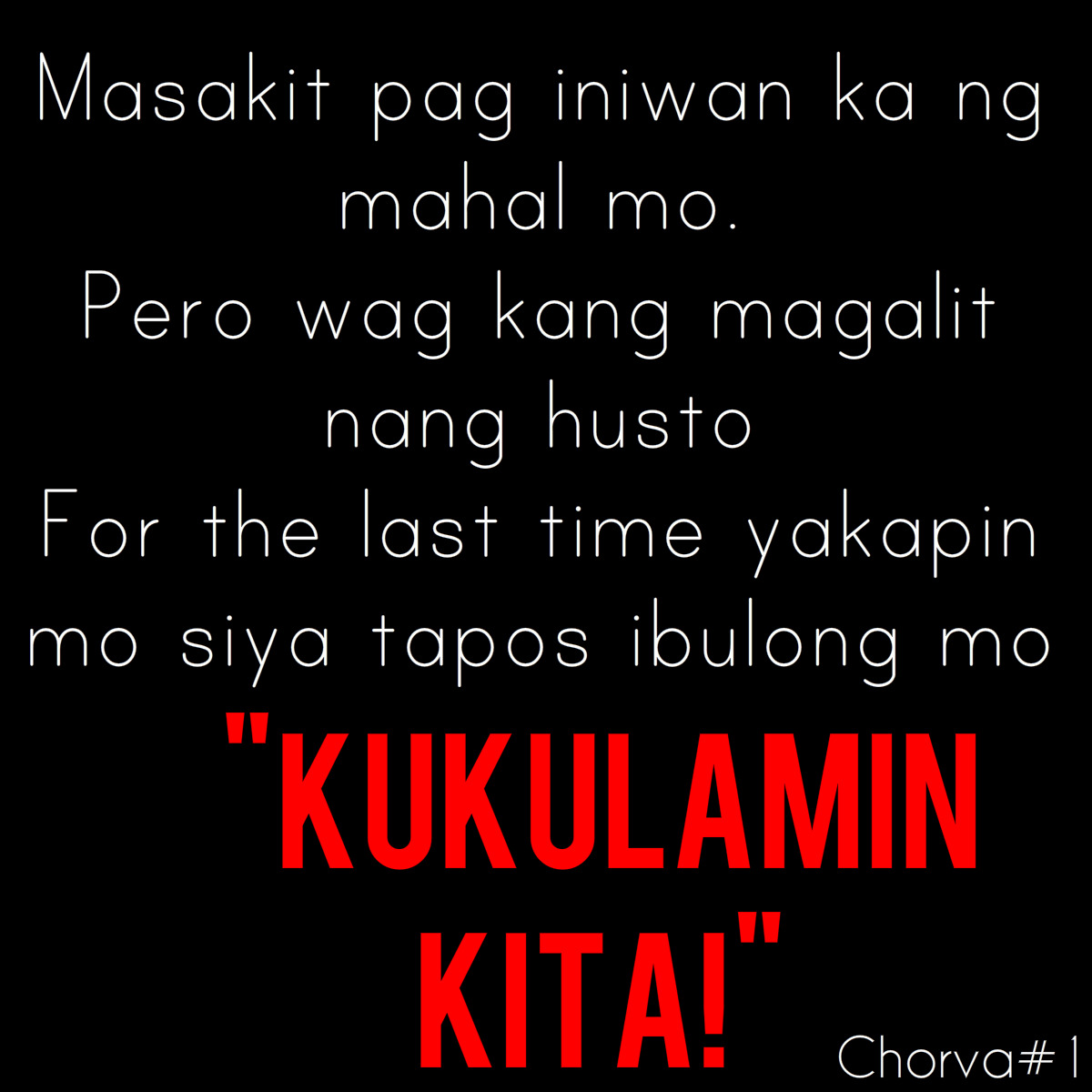 Tagalog Pick Lines Love Quotes