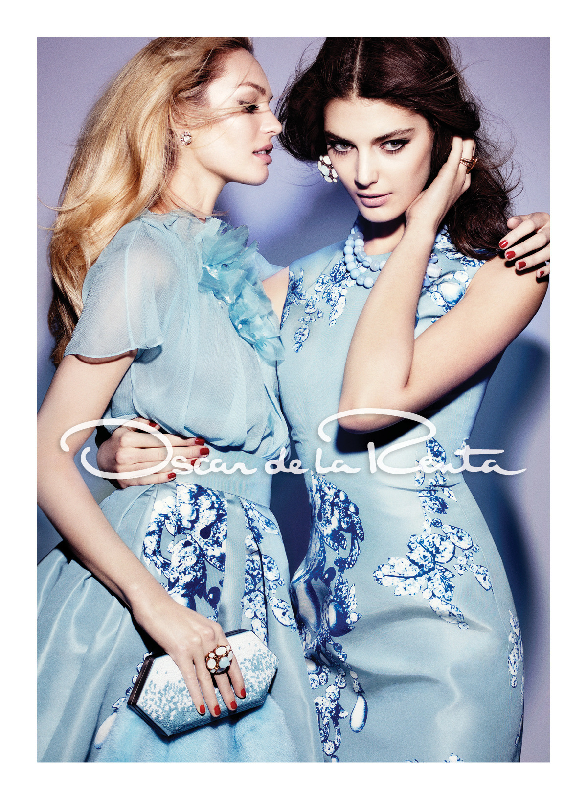 our fall 2012 campaign. candice swanepoel & katryn kruger. craig mcdean. alex white.