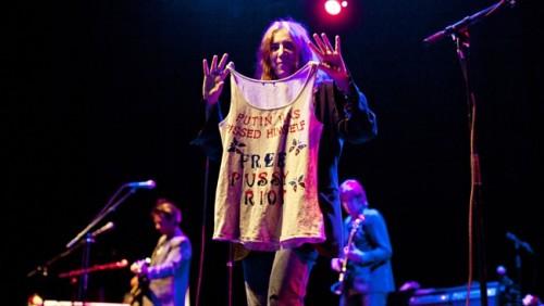mysticalpsychosis:</p><br /><br /><br /><br /> <p>Patti SmithFree Pussy Riot<br /><br /><br /><br /><br />