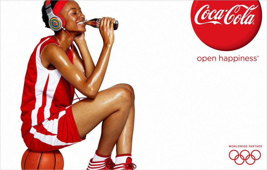 Coke: Open Happiness